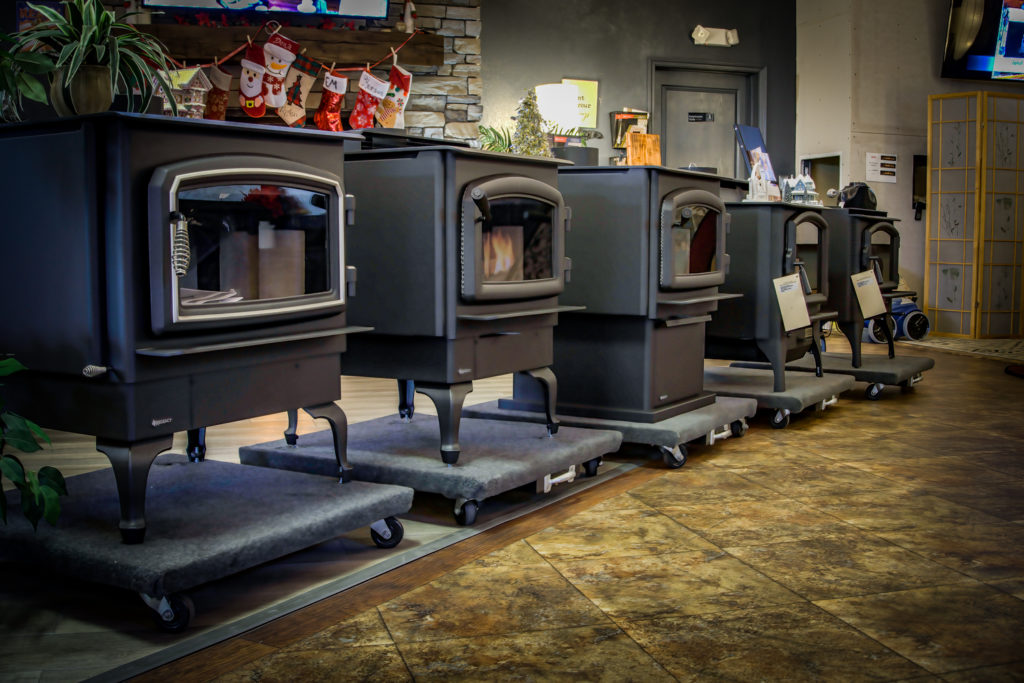Foothill Fireplace Showroom